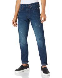 G-Star RAW Scutar 3D Slim Tapered Jeans - Azul