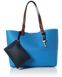 Fossil Damentasche ? Rachel Shopper Tote - Blue