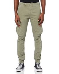 True Religion Cargo Pant Trousers - Green
