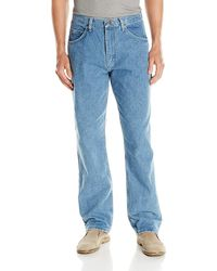 Wrangler Authentics Classic 5-pocket Relaxed Fit Cotton Jean - Blue