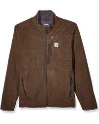 Carhartt Dalton Full Zip Fleece Sweater - Gray