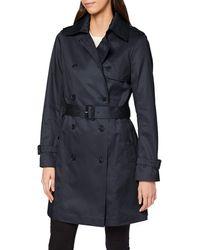 Esprit Collection 010eo1g306 Abrigo - Azul