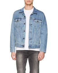 Levi's The Trucker Jacket Blouson - Bleu