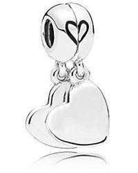 PANDORA Argent Charms et perles 797777EN16 - Blanc