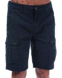 Timberland Bermuda Shorts mit Taschen A1TDH 433 40 Blu - Blau