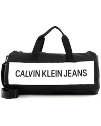 Calvin Klein Duffle Bag Black