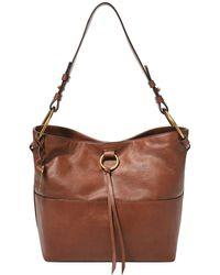 Fossil Ada Shoulder Bag Brown Leather 27 Cm For Zb1413200