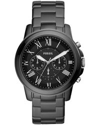 Fossil Ce5021 S Grant Watch - Black
