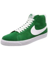 5c467dd5dc8b4 Nike Sb Zoom Blazer Mid Canvas Men's Shoes (high-top Trainers) In ...