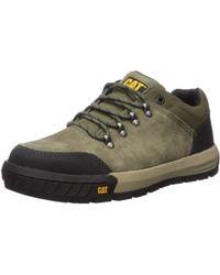Caterpillar Converge Steel Toe Industrial Shoe - Green