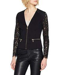 Guess Kameko Jacket Manteau Femme - Noir