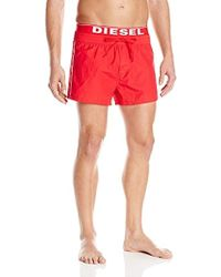 DIESEL Seaside Swim Short - Red