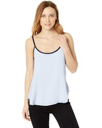 Kenneth Cole Double Layer Swing Cami - Blue