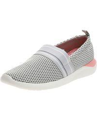 Crocs™ Literide Mesh Slip-on Shoe Trainer - White
