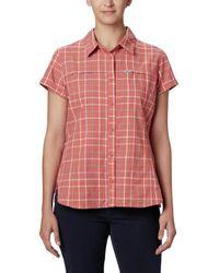 Columbia Silver Ridge Novelty Short Sleeve Shirt - Multicolore
