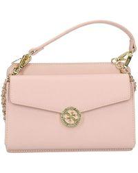 Guess Holdall Mini Flap Blush - Rosa
