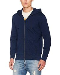 Levi's Herren Strickjacke Original Zip Up Hoodie - Blau