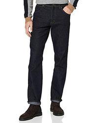 Wrangler - Regular Fit Str Rinsewash Jeans - Lyst