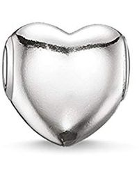Thomas Sabo - Bead Heart 925 Sterling Silver K0107-001-12 - Lyst