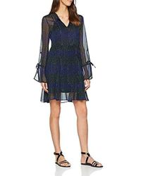 Tommy Hilfiger Luna Dress Ls Long Sleeve Dress - Black