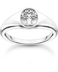 Thomas Sabo Ring Tree of Love Silber 925 Sterlingsilber TR2374-001-21 - Mettallic