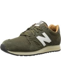 New Balance 520, Zapatillas para Hombre, Verde (Military Dark Triumph Green/Brown Sugar Bg), 40 EU