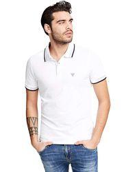 Guess Grady SS Camisa de Polo - Blanco