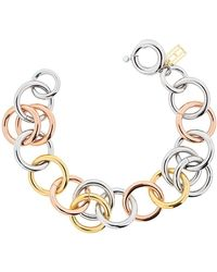 Tommy Hilfiger - Jewelry Mujer acero inoxidable Enlace 2701045 - Lyst