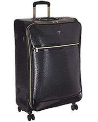 "Guess Rancho 28"" 8-wheeler Suitcases, Black, 19"" X 9.5"" X 29"""