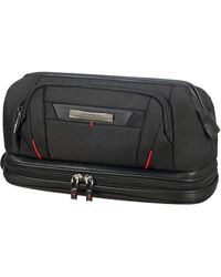 Samsonite Dlx5 Cosmetic Cases - Large Opening Toiletry - Black