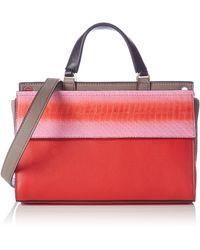Calvin Klein Borsa con iglia - Rosso