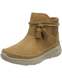 Skechers Womens Bootie Ankle Boot - Brown
