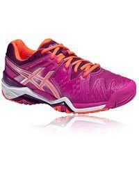 Women's Purple Gel resolution 5, Tennis Shoes