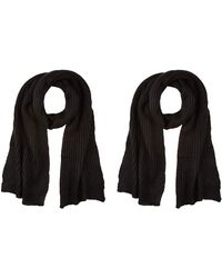 Dorothy Perkins Plain Knit Scarf - Black