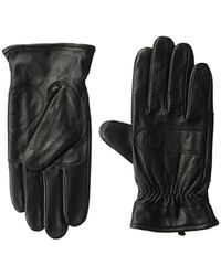 Fred Perry - Perforated Leather Gloves -l/m - Lyst
