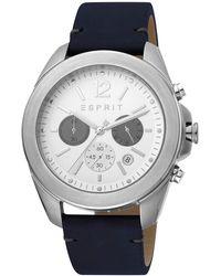 Esprit - Montre Chronographe Acier Inoxydable - Lyst