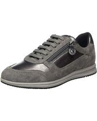 Geox D Avery A Sneaker - Grau