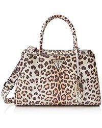e35e214ca477e Guess - Maddy Girlfriend Satchel Top-handle Bag - Lyst