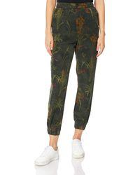 Desigual Pant_CAMOTIGER Pantaloni Casual - Verde