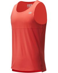 New Balance Printed Accelerate T-shirt - Red