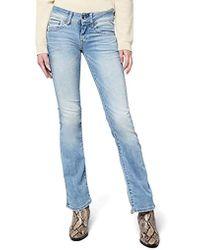 G-Star RAW Midge Saddle Mid Waist Bootcut Jeans - Blau