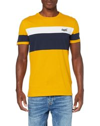 Superdry Orange Label Chestband Tee T-shirt - Multicolour
