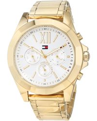 Tommy Hilfiger - S Multi Dial Quartz Watch With Stainless Steel Strap 1781848 - Lyst