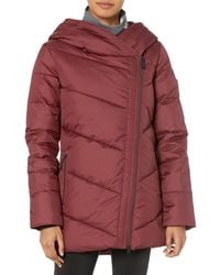 Volcom Structure Down Snow Jacket - Red