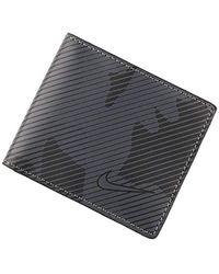 Nike Camo Golf Billfold Wallet - Grey