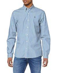Scotch /& Soda Crispy poplin longsleeve shirt Hemd