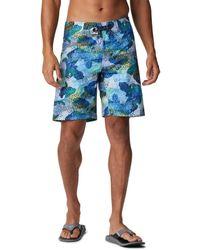 Columbia Pfg Offshore Ii Board Shorts - Blue