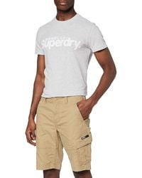 Superdry Core Cargo Shorts Pantalones Cortos - Neutro