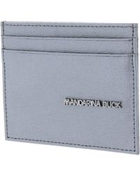Mandarina Duck - Card Holder essenziale Silver - Lyst