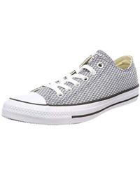 Converse - Chuck Taylor Ctas Ox Textile Fitness Shoes - Lyst